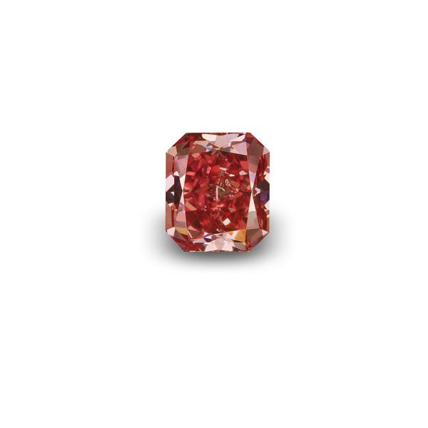 View 1.09 ct. Radiant FANCY RED
